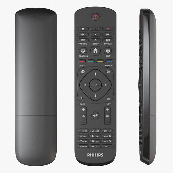 Philips TV Remote Controller - 3DOcean Item for Sale
