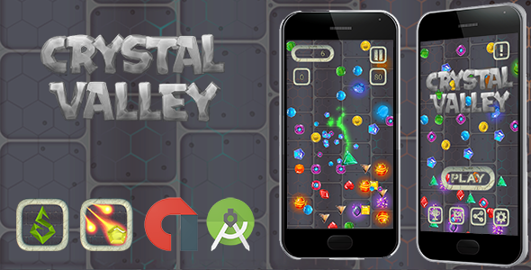Crystal Valley Android + Admob (Android Studio) Free Download | Nulled