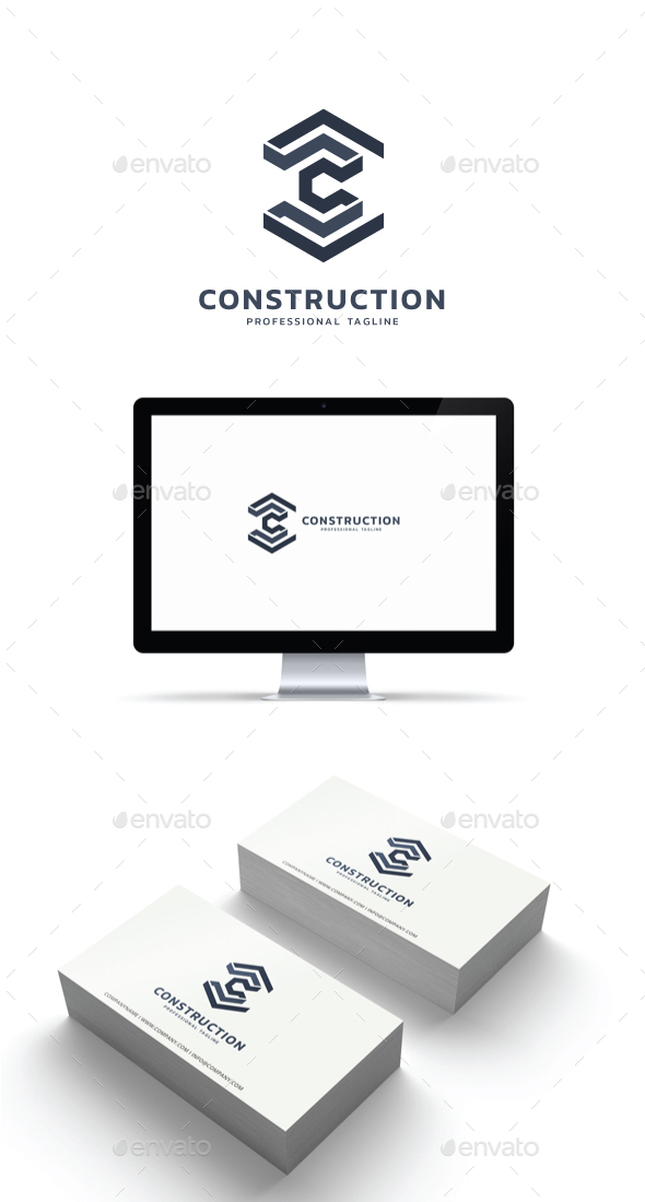 GraphicRiver Construction Logo 21182496