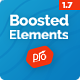 Boosted Elements | WordPress Page Builder Add-on for Elementor
