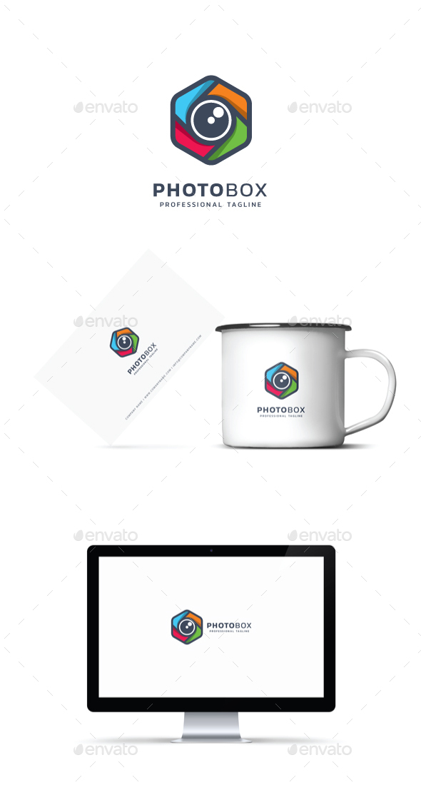 GraphicRiver Photo Box Logo 21182498