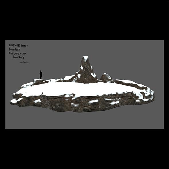 snow terrain - 3DOcean Item for Sale