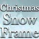 Christmas Snow Frame - VideoHive Item for Sale