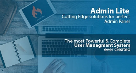 Admin Lite - Powerfull PHP Admin Panel