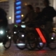 Lot of Cyclists Ride During Night  - VideoHive Item for Sale
