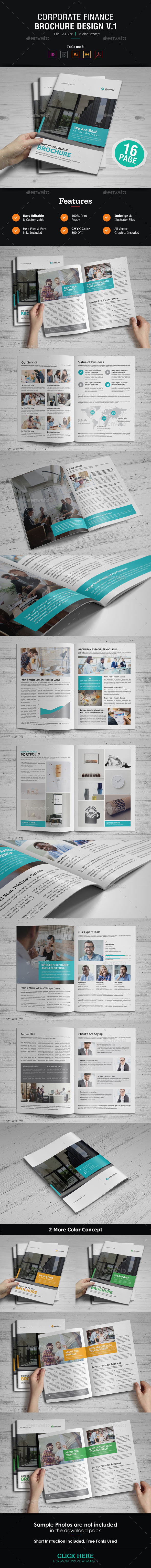 GraphicRiver Corporate Brochure Design 21182687