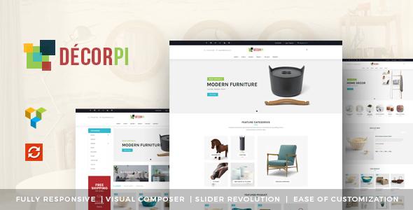 DecorPi - Responsive Multipurpose WordPress WooCommerce Theme