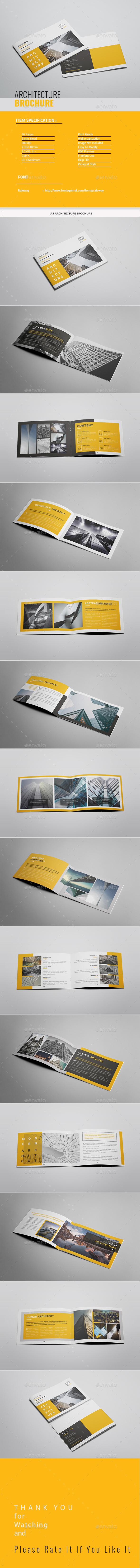 A5 Architecture Brochure - Portfolio Brochures