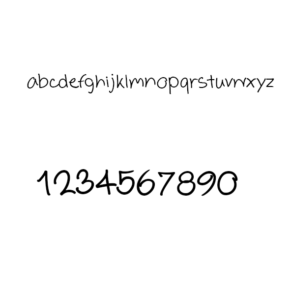 Lucky every1.ttf in Dingbat Fonts - product preview 2