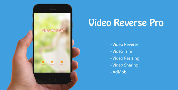 Video Reverse - IOS Souce Code - CodeCanyon Item for Sale