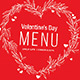Valentines Menu Vol.2 - GraphicRiver Item for Sale