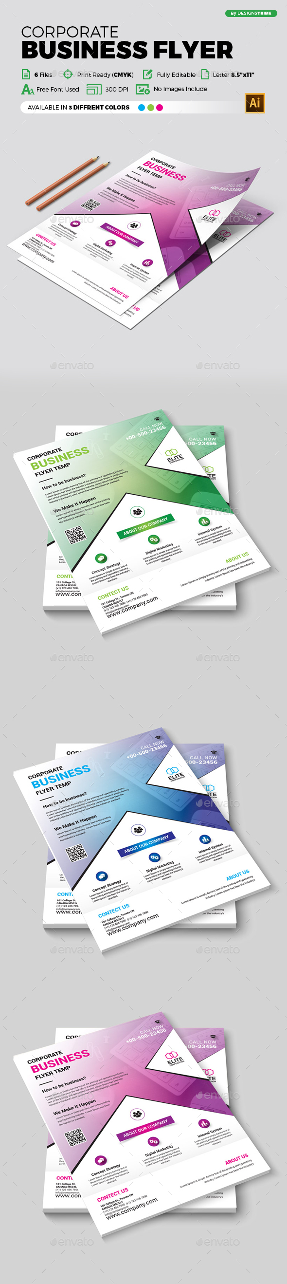 GraphicRiver Flyer Multipurpose 356 21183283