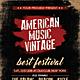 American Vintage Flyer / Poster