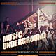 Music Underground Flyer / Poster