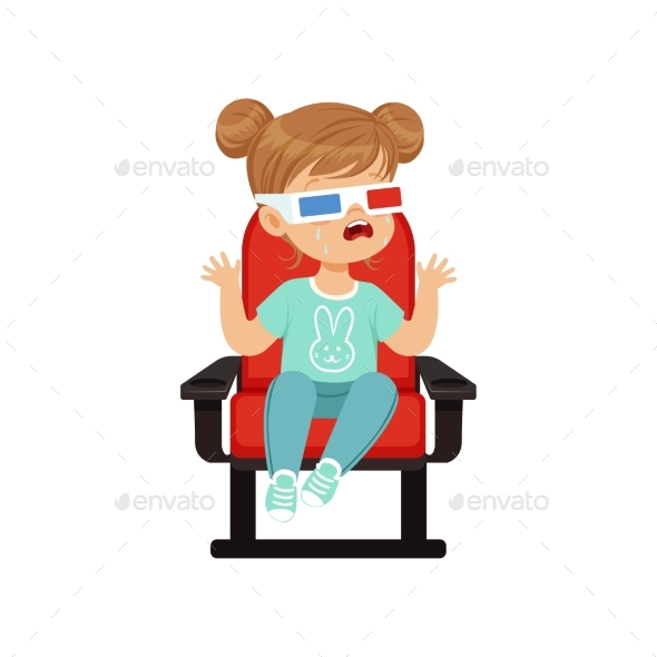 GraphicRiver Girl in 3D Glasses 21183776