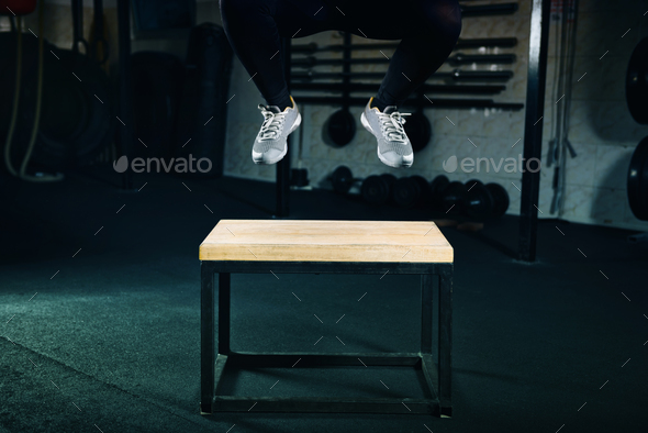 Jump exercise - Stock Photo - Images