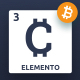 Cryto-Elemento | bitcoin Template for Sketch