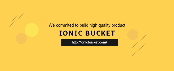 Ionicbucket codecanyou