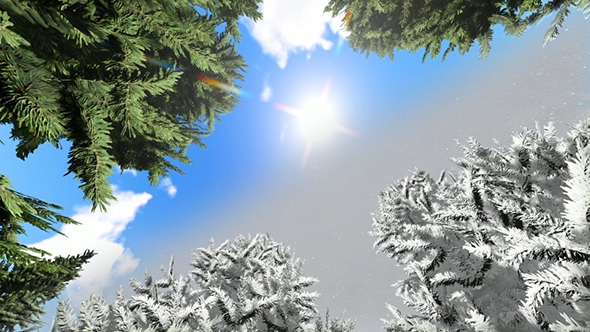 VideoHive Sun and Snow Time-lapse 21184233