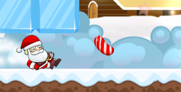 SANTA CLAUS RUN - Android - CodeCanyon Item for Sale