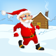 SANTA CLAUS RUN - iOS