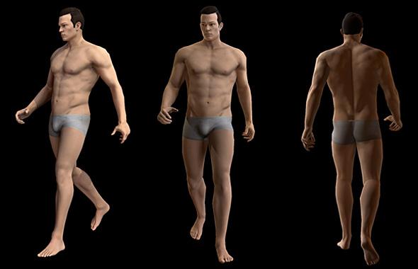 Man base model - 3DOcean Item for Sale