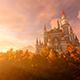 The Castle Is Surrounded By A Beautiful Park - VideoHive Item for Sale