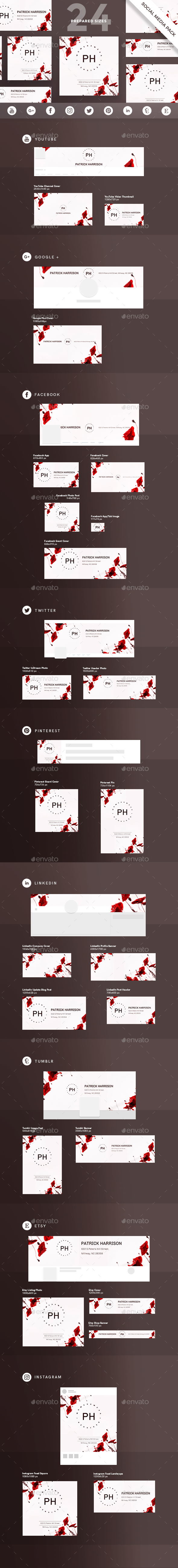 GraphicRiver Fashion Style Social Media Pack 21184499