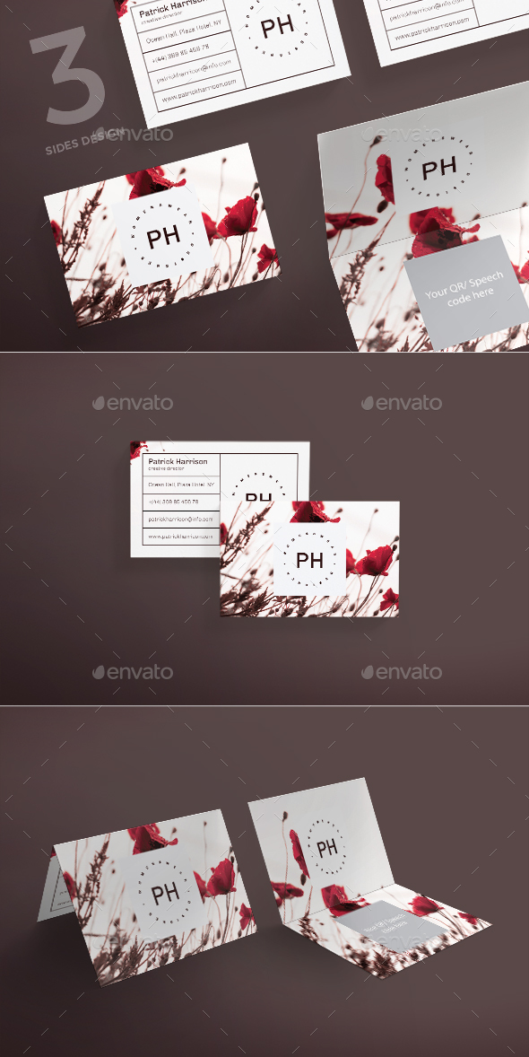GraphicRiver Fashion Style Business Card 21184509