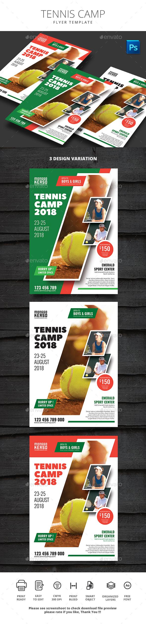 GraphicRiver Tennis Camp 21184627
