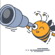 Bee Spyglass - GraphicRiver Item for Sale