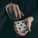 Magician's Hands Performing Card Trick - VideoHive Item for Sale