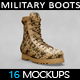 Military Boots Mockup - GraphicRiver Item for Sale