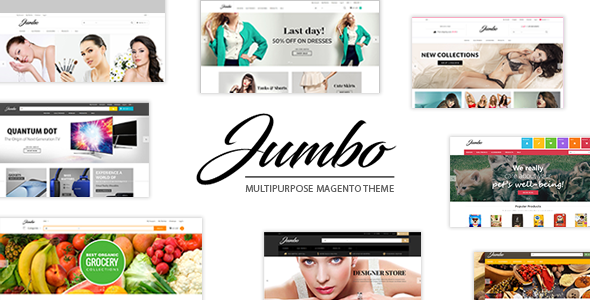 ThemeForest Jumbo Ultimate Responsive Magento Theme 21184985