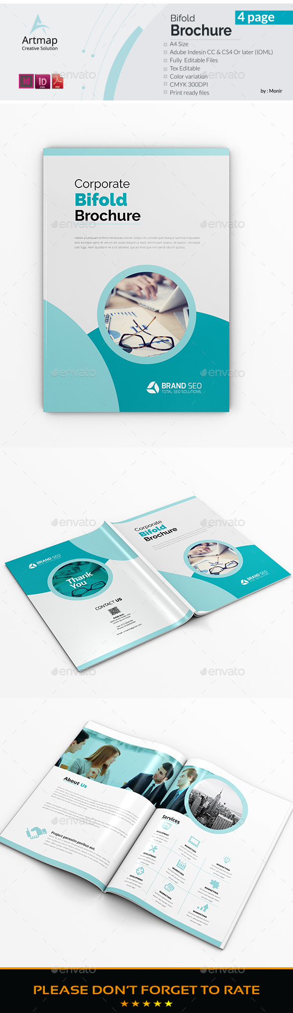 GraphicRiver Bifold Brochure 21185301