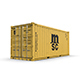 20 feet MSC standard shipping container