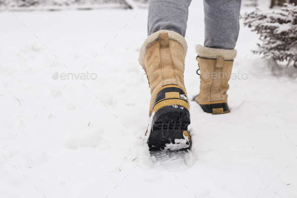Winter boots - Stock Photo - Images