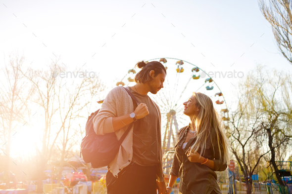 Couple in love - Stock Photo - Images