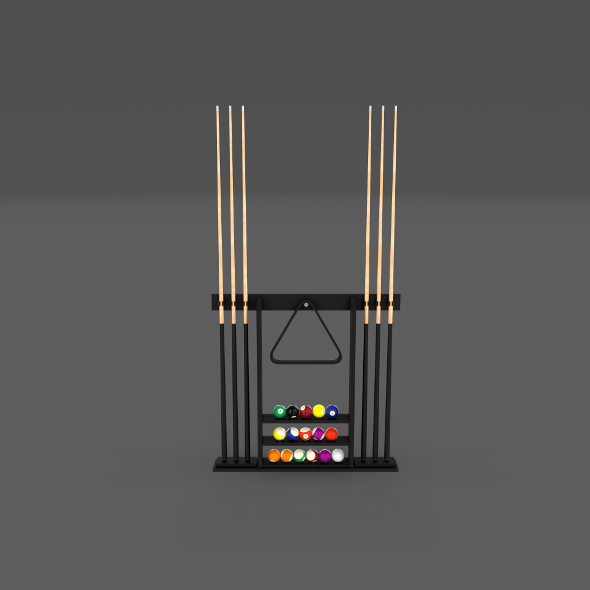 8 Ball Pool Rack - 3DOcean Item for Sale