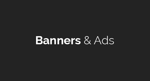 Banners & Ads