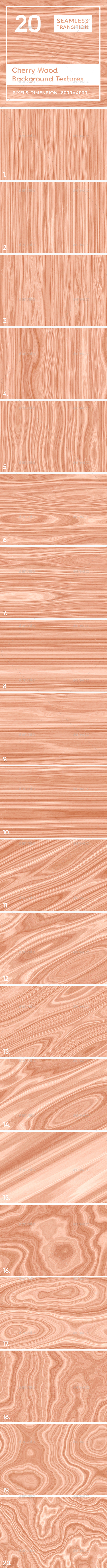 20 Cherry Wood Background Textures - Wood Textures