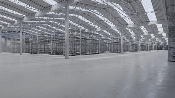 Warehouse Interior 8 - 3DOcean Item for Sale