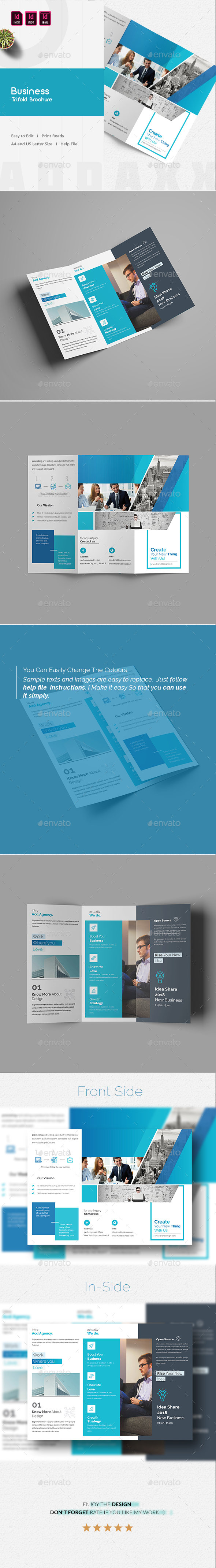 GraphicRiver Business Trifold Brochure 21185996