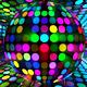 Neon Disco Ball