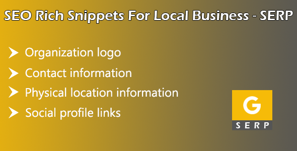 SEO Rich Snippets for Local Business SERP