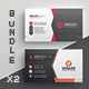 Business Card Bundle 46 - GraphicRiver Item for Sale