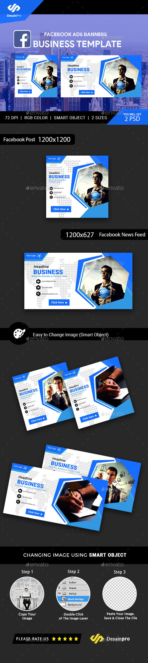 GraphicRiver Business Corporate Facebook Ads Banner AR 21186363