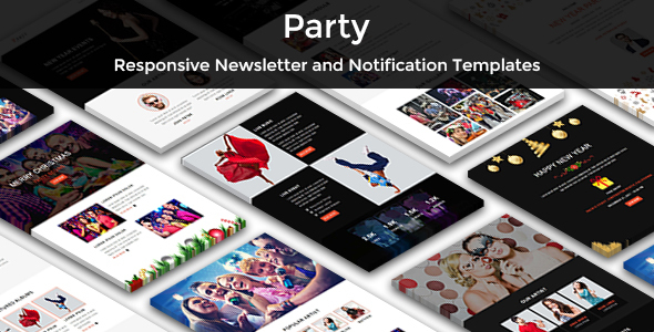 Download Party - Multipurpose Responsive Email Templates            nulled nulled version