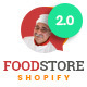 Foodstore Responsive Shopify Theme - ThemeForest Item for Sale