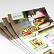 A4 Size Food Flyer